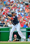 3 September 2012: Washington Nationals outfielder Michael Morse in action against the Chicago Cubs at Nationals Park in Washington, DC. The Nationals edged out the visiting Cubs 2-1, in the first game of heir 4-game series. Mandatory Credit: Ed Wolfstein Photo