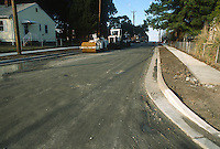 1993 March 05..Conservation.Cottage Line...STREET IMPROVEMENTS.KINGSTON LOOKING NORTH TOWARD EAST OCEAN VIEW AVENUE...NEG#.NRHA#..