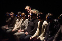 London, UK. 04.02.2015.  non zero one present MOUNTAINEERING, an interactive audience  experience, created in collaboration with a group of young artists aged 16 - 25, in the studio at the Roundhouse. © Jane Hobson.