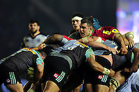 Nick Easter of Harlequins in action at a maul. Aviva Premiership match, between Harlequins and Bath Rugby on March 11, 2016 at the Twickenham Stoop in London, England. Photo by: Patrick Khachfe / Onside Images