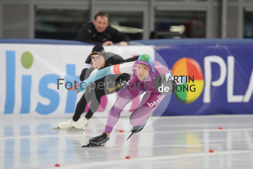 SCHAATSEN: AMSTERDAM: Olympisch Stadion, 01-03-2014, KPN NK Sprint/Allround, Coolste Baan van Nederland, Michel Mulder, ©foto Martin de Jong