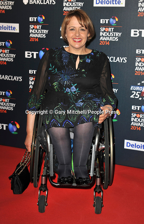 Baroness Tanni Grey- Thompson attends the BT Sport Industry Awards at Battersea Evolution on May 8, 2014 in London, England