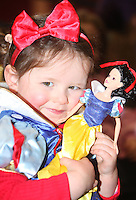 ***** NO FEE PIC*****.26/12/2010.Lucy Gaffney (2) from Naas.during  Disney On Ice : 100 Years of Magic at the Citywest Hotel , Dublin..Disney on Ice runs from 26th December till the 2nd January 2011 with tickets available from Ticketmaster & Box Offices for all shows. .Photo: Gareth Chaney Collins