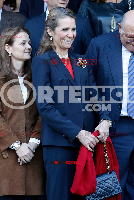 Pricess Elena of Spain attends the 'VII Universidad Empresa' awards in Madrid. November 22, 2012. (ALTERPHOTOS/Caro Marin) /NortePhoto