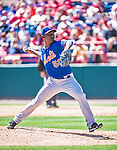 13 March 2014: New York Mets pitcher Rafael Montero on the mound during a Spring Training game against the Washington Nationals at Space Coast Stadium in Viera, Florida. The Mets defeated the Nationals 7-5 in Grapefruit League play. Mandatory Credit: Ed Wolfstein Photo *** RAW (NEF) Image File Available ***