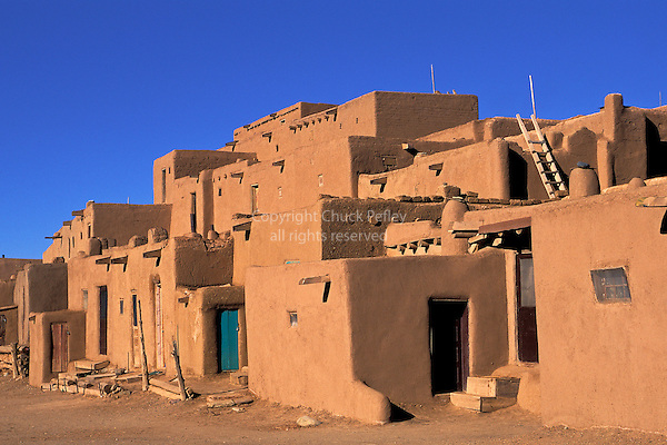 Taos pueblo new mexico usa chuck pefley designs for Adobe home builders texas