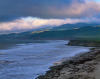 Sunrise, Coastal Fog, Jalama Beach, Jalama Beach County Park, Santa Barbara County, California