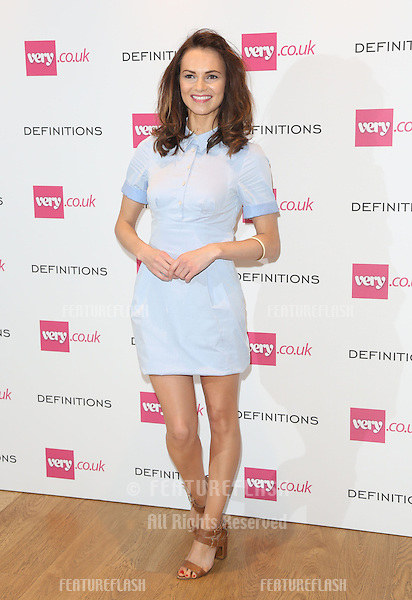 Kara Tointon at the Launch party for Very.co.uk introducing the new fashion brand Definitions at Somerset House<br /> London. 04/09/2013 Picture by: Henry Harris / Featureflash