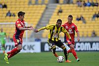 Kenny Cunningham during the A League - Wellington Phoenix v Adelaide United, Wellington, New Zealand on Sunday 30 March 2014. <br /> Photo by Masanori Udagawa. <br /> www.photowellington.photoshelter.com.