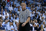 16 December 2015: Referee Louie Andrakakos. The University of North Carolina Tar Heels hosted the Tulane University Green Wave at the Dean E. Smith Center in Chapel Hill, North Carolina in a 2015-16 NCAA Division I Men's Basketball game. UNC won the game 96-72.