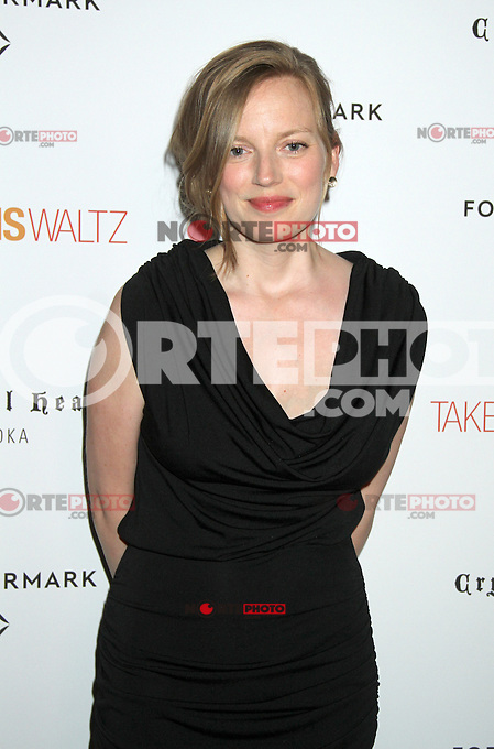 June 21, 2012 Director Sarah Polley at the screening of Take This Waltz presented by Forevermark at the Sunshine Landmark in New York City. &copy; RW/MediaPunch Inc. NORTEPHOTO.COM<br />