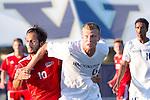 Simon Fraser vs. UW Men's Soccer 8/16/12