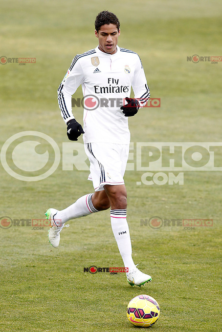 Real Madrid's Raphael Varane during La Liga match.January 18,2013. (ALTERPHOTOS/Acero) /NortePhoto<br />
