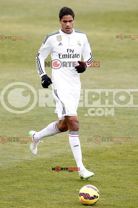 Real Madrid's Raphael Varane during La Liga match.January 18,2013. (ALTERPHOTOS/Acero) /NortePhoto<br /> NortePhoto.com