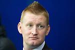 Rangers v St Johnstone...19.11.11   Scottish Premier League.St Johnstone Manager Steve Lomas.Picture by Graeme Hart..Copyright Perthshire Picture Agency.Tel: 01738 623350  Mobile: 07990 594431
