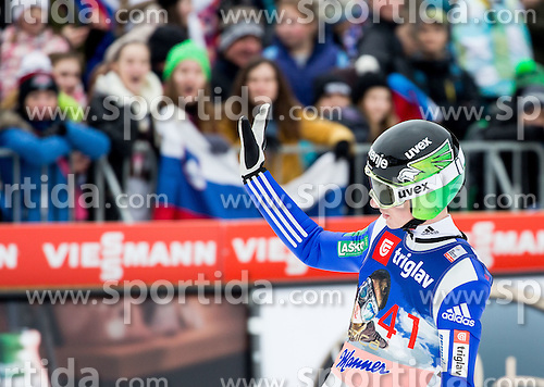 Jaka Hvala (SLO) during the Ski Flying Hill Individual Competition at Day 1 of FIS Ski Jumping World Cup Final 2016, on March 17, 2016 in Planica, Slovenia. Photo by Vid Ponikvar / Sportida