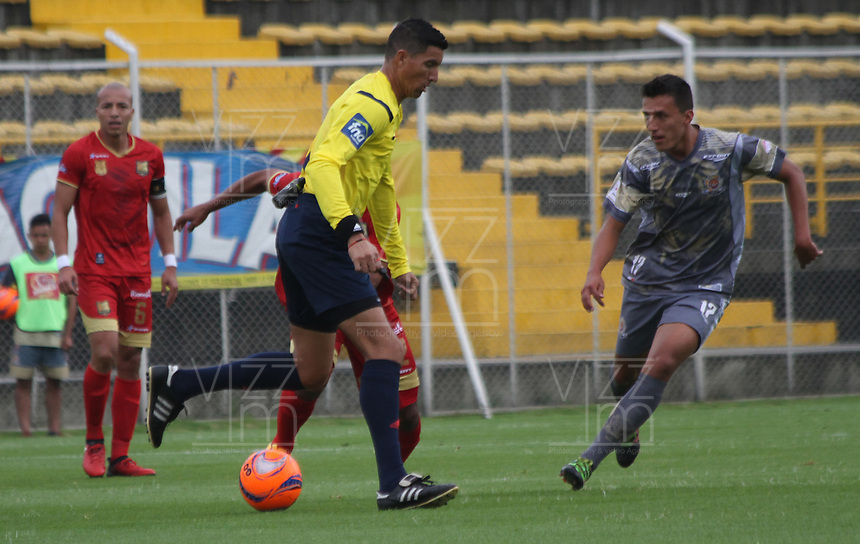 BOGOTA -COLOMBIA, 12-03-2017.Action game between  Tigres FC  and Rionegro during match for the date 9 of the Aguila League I 2017 played at Metropolitano de Techo stadium . Photo:VizzorImage / Felipe Caicedo  / Staff
