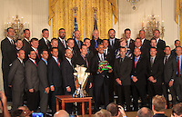 SEP 28 President Barack Obama Honors Kyle Busch At The WHite House