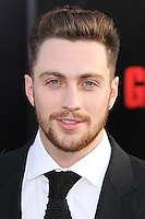"""HOLLYWOOD, LOS ANGELES, CA, USA - MAY 08: Aaron Taylor-Johnson at the Los Angeles Premiere Of Warner Bros. Pictures And Legendary Pictures' """"Godzilla"""" held at Dolby Theatre on May 8, 2014 in Hollywood, Los Angeles, California, United States. (Photo by Xavier Collin/Celebrity Monitor)"""