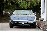 BNPS.co.uk (01202 558833)<br /> Pic: Bonhams/BNPS<br /> <br /> 1971 Maserati Indy America estimated at &pound;68,000.<br /> <br /> If barn finds are the holy grail for car collectors then this selection of 12 vintage motors worth &pound;2million found languishing in a Swiss schloss is something else. <br /> <br /> The stunning collection, which boasts an iconic 1921 Rolls-Royce Silver Ghost, was started by a wealthy car enthusiast in the 1950s but since his death has remained largely untouched. <br /> <br /> However, the original owner's son recently rediscovered his father's haul and will now offer it at auction.
