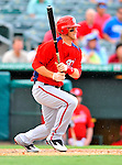 3 March 2011: Washington Nationals' outfielder Bryce Harper in action during a Spring Training game against the St. Louis Cardinals at Roger Dean Stadium in Jupiter, Florida. The Cardinals defeated the Nationals 7-5 in Grapefruit League action. Mandatory Credit: Ed Wolfstein Photo