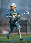 16 April 2016: University of Vermont Catamount Midfielder Nick Bartlett, a Senior from New Canaan, CT, in action against the University of Maryland, Baltimore County Retrievers at Virtue Field in Burlington, Vermont. The Catamounts defeated the Retrievers 14-10 in NCAA Division I play. Mandatory Credit: Ed Wolfstein Photo *** RAW (NEF) Image File Available ***