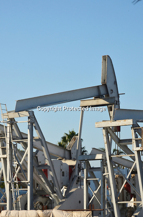 Stock photo Oil Pumping Machines
