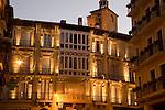 City Centre at Night, Pamplona; Navarra; Spain