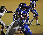 Water Valley's C.J. Jackson (26) runs for a touchdown vs. Nettleton in Water Valley, Miss. on Friday, October 14, 2011. Water Valley won 53-7.
