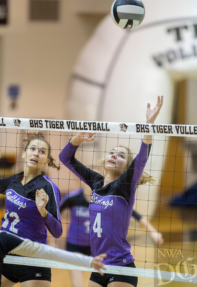 STAFF PHOTO JASON IVESTER --09/25/2014--<br /> Hadley Spresser of Fayetteville on Thursday, Sept. 25, 2014, at Bentonville High School.
