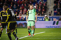 HARRISON, NJ - Sunday, November 29, 2015: The Columbus Crew defeat the New York Red Bulls 2-1 on aggregate at Red Bull Arena to win the Eastern Conference Finals of the 2015 MLS Playoffs.