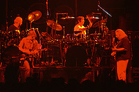 "Billy, Bobby, Mickey & Jerry performing with The Grateful Dead Live at The Hampton Coliseum on 9 October 1989. One of the ""Formerly The Warlocks"" concerts. Limited Edition Photographic Prints available for purchase in Cart."
