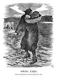 Sowing Tares. (With a thousand apologies to Sir John E Millais, Bart., RA.)