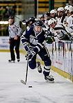 10 February 2017: University of New Hampshire Wildcat Forward JasonSalvaggio, a Junior from Hanson, MA, in first period action against the University of Vermont Catamounts at Gutterson Fieldhouse in Burlington, Vermont. The Wildcats came from behind to defeat the Catamounts 4-2 in the first game of their 2-game Hockey East Series. Mandatory Credit: Ed Wolfstein Photo *** RAW (NEF) Image File Available ***