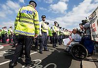 "07.09.2016 - DPAC Presents: ""No More Benefit Deaths #CutsKill "" - Westminster Bridge Roadblock"