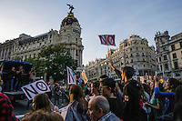 Manifestation against the education reform in Madrid