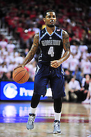 Hoyas' D'Vauntes Smith-Rivera runs the offense. Maryland defeated Georgetown 75-71 during a game at Xfinity Center in College Park, MD on Wednesday, November 17, 2015.  Alan P. Santos/DC Sports Box