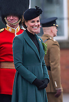 Kate, Duchess of Cambridge and Prince William attend St. Patrick's Day Parade - UK