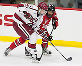 Wiley Sherman (Harvard - 25), Alex Rodriguez (RPI - 39) - The Harvard University Crimson defeated the visiting Rensselaer Polytechnic Institute Engineers 5-2 in game 1 of their ECAC quarterfinal series on Friday, March 11, 2016, at Bright-Landry Hockey Center in Boston, Massachusetts.