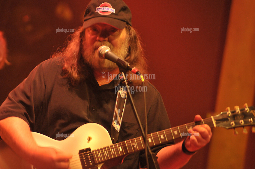 Roky Erickson in Concert with Okkervil River Band at Webster Hall New York City 25 May 2010. Credit Photography: James R Anderson