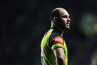 Lachlan McCaffrey of Leicester Tigers looks on. Aviva Premiership match, between Wasps and Leicester Tigers on January 8, 2017 at the Ricoh Arena in Coventry, England. Photo by: Patrick Khachfe / JMP