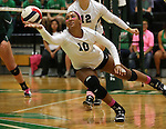 10/11/13 NT Volleyball team vs Charlotte Forty Niners