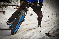 FAT BIKE SNOW BIKE WINTER BIKE STOCK PHOTOGRAPHY PHOTOS PICTURES IMAGES