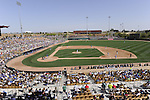GLENDALE, AZ - MARCH 09:  A general view of The Ballpark at Camelback Ranch in Glendale, Arizona during the game between the Chicago White Sox and Chicago Cubs on March 9, 2012. The Cubs defeated the White Sox 5-1.  (Photo by Ron Vesely)  Subject:  Camelback Ranch