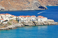 Chora is the capital of Andros, Greece
