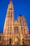 Onze Lieve Vrouwekathedraal; Cathedral of Our Lady; Antwerp; Belgium; Europe