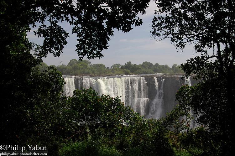 Victoria Falls, from Zimbabwe.