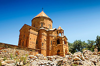 10th century Armenian Orthodox Cathedral of the Holy Cross on Akdamar Island, Lake Van Turkey 69