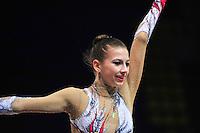 "ANASTASIA KISSE of Bulgaria performs at 2011 World Cup Kiev, ""Deriugina Cup"" in Kiev, Ukraine on May 06, 2011."