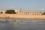 BAGHDAD, IRAQ: Haider, Hamza, Namir, Anas, and Muhammed practice on the Tigris...Iraq is fielding a rowing team for the London 2012 Olympics...Photo by Kamaran Najm/Metrography